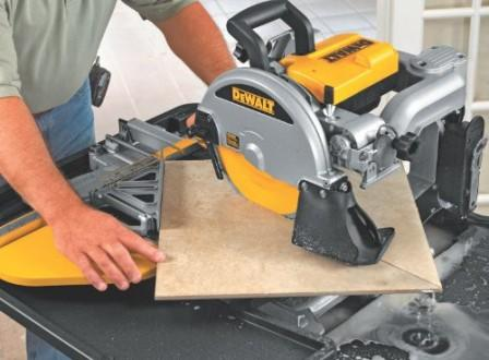best wet tile saw reviews
