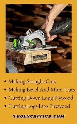 Activities of best compact circular saw