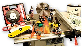 Best begginer table saw accessories