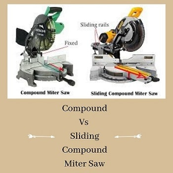 Compound Vs Sliding Compound Miter Saw