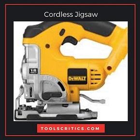 cordless jigsaw