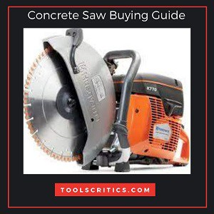 Concrete saw buying Guide