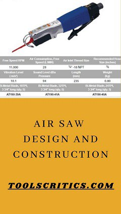 Design and construction of Best air reciprocating saw