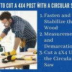 How to Cut a 4x4 Post with a Circular Saw